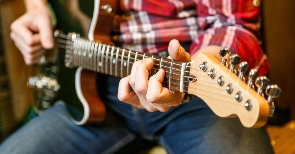 ćwiczenia trening plan gitara